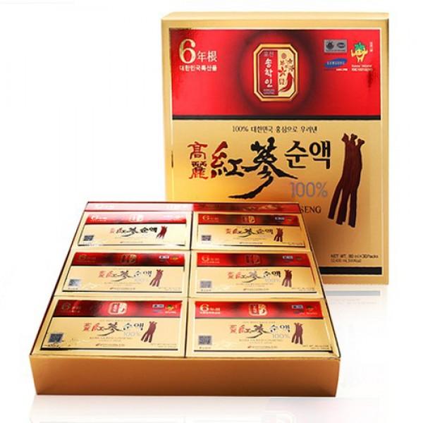 Nước hồng sâm Pocheon cao cấp hộp 30 gói 1