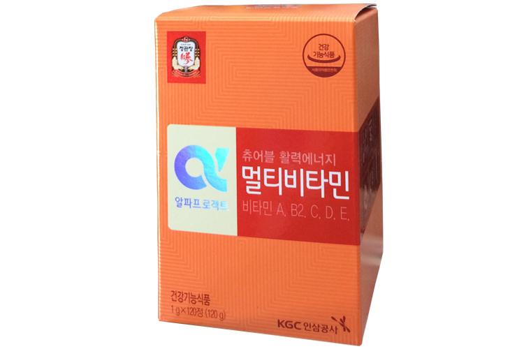 Viên cao hồng sâm Hàn Quốc cao cấp KGC vitamin e hộp 360 viên 2