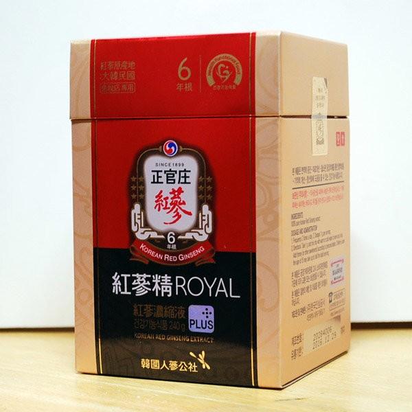 Cao hồng sâm Chính phủ Hàn Quốc KGC ROYAL PLUS lọ 240g 1