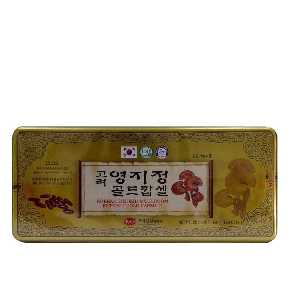 Viên linh chi Hàn Quốc KGS hộp thiếc 120 viên 1