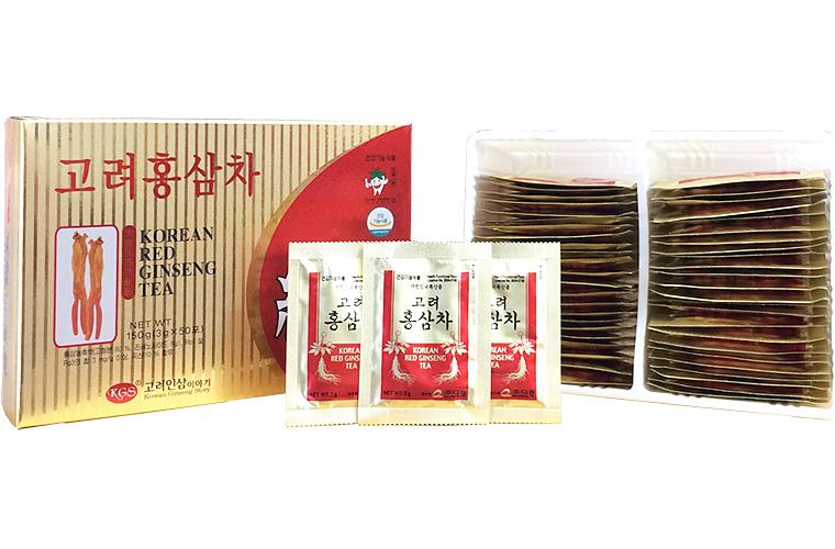 Trà sâm Hàn Quốc KGS hộp 50 gói 2