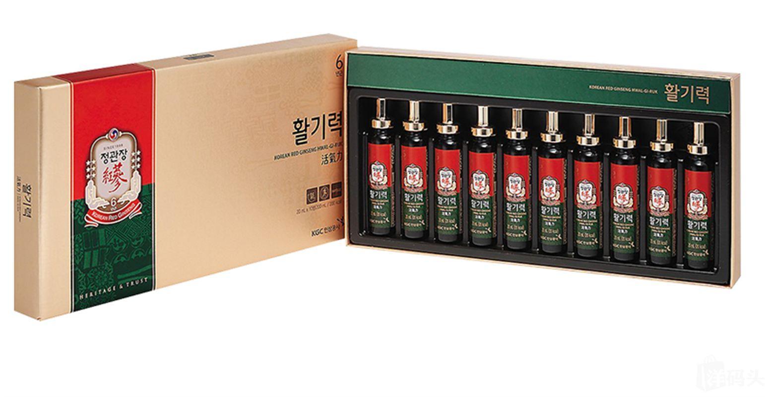 Nước hồng sâm KGC hộp 10 ống 1