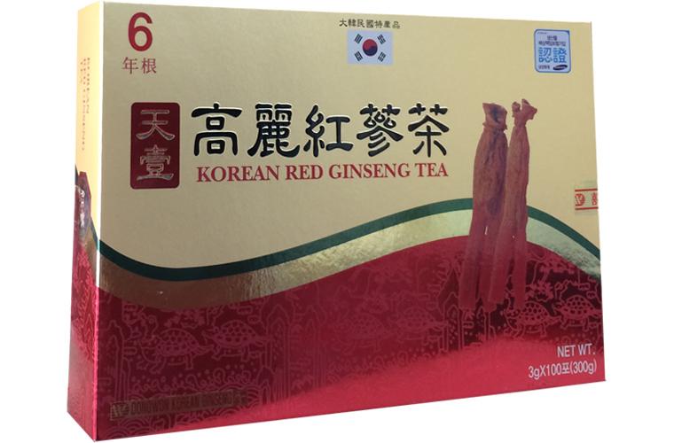 Trà hồng sâm Dongwon cao cấp 100 gói 1