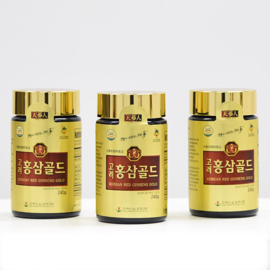 Cao hồng sâm Bio Hàn Quốc 6 năm tuổi lọ 240g 1