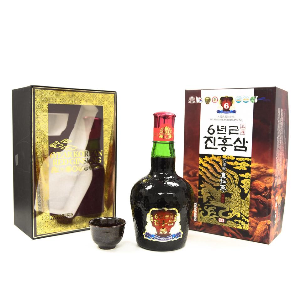 Nước Hồng Sâm 6 năm tuổi Taewoong Hàn Quốc chai 700ml 1