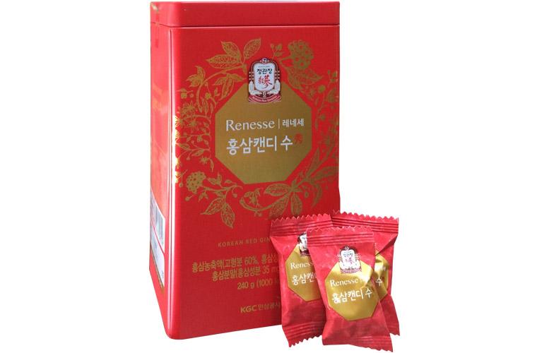 Kẹo sâm Hàn Quốc KGC cao cấp hộp thiếc 240g 2