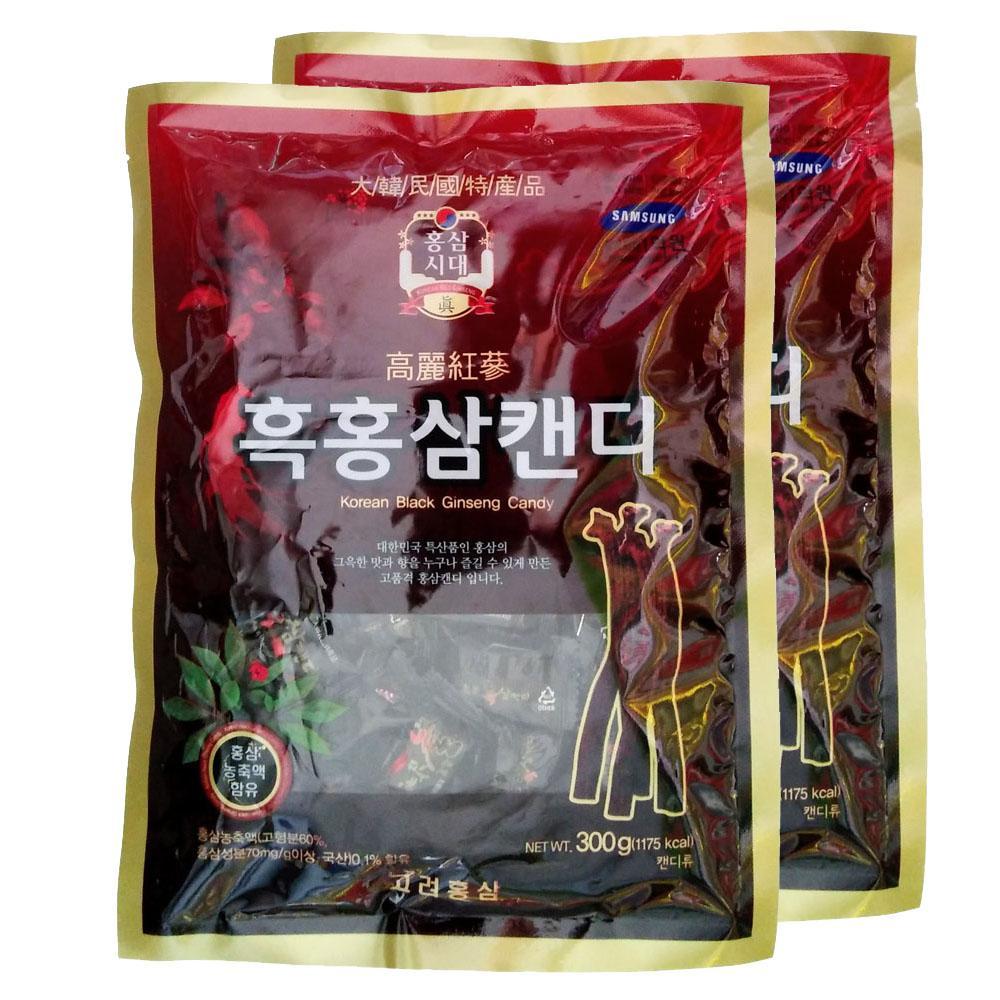 Kẹo Hắc Sâm Hàn Quốc 300g 2