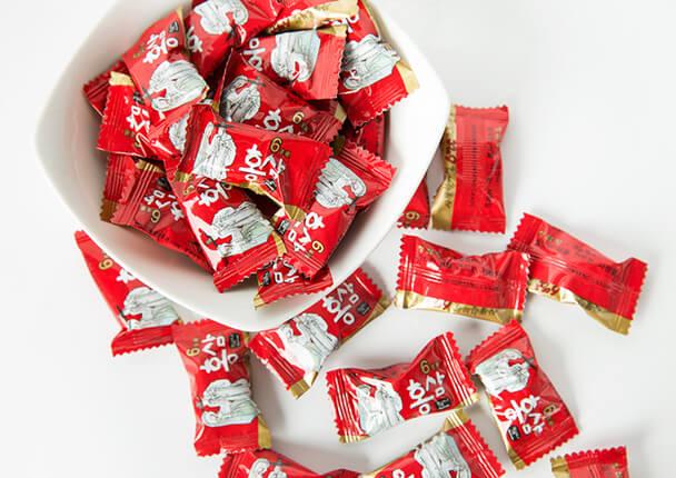 Kẹo sâm Hàn Quốc hiệu Ông Bà Lão 800g 2