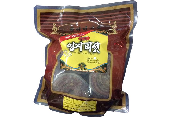Nấm linh chi thiên nhiên Hàn Quốc