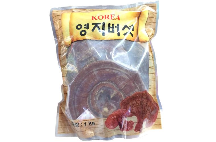 Nấm linh chi đỏ Hàn Quốc 3 tai 1 kg