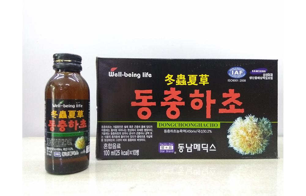 Nước đông trùng hạ thảo Hàn Quốc 2