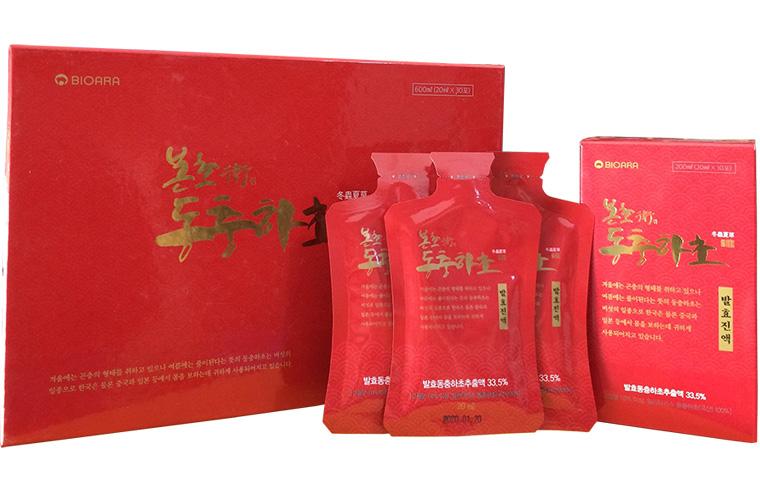 Đông trùng hạ thảo Hàn Quốc cao cấp chiết xuất lên men 1