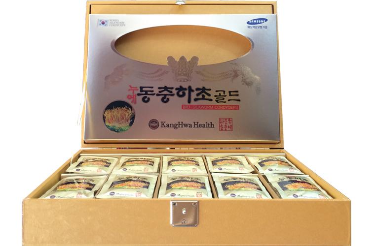 Nước đông trùng hạ thảo Hàn Quốc Rùa Vàng 60 gói 1
