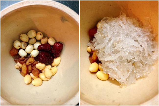 Tổ yến kết hợp với hạt sen, táo tàu, bạch quả và nhãn nhục sẽ mang lại tác dụng như thế nào ? 5