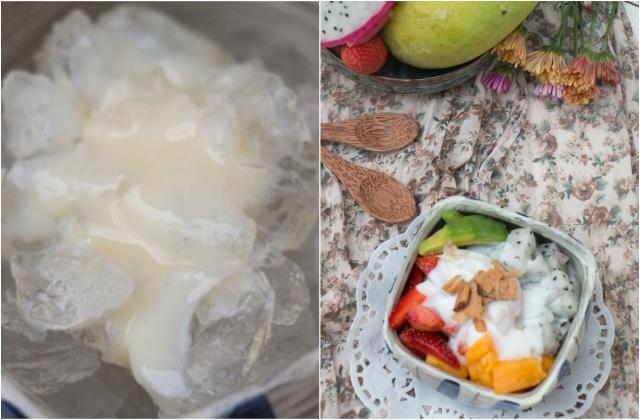 Tổ yến dằm trái cây – món ăn vặt bổ dưỡng, giải nhiệt cho mùa hè 1