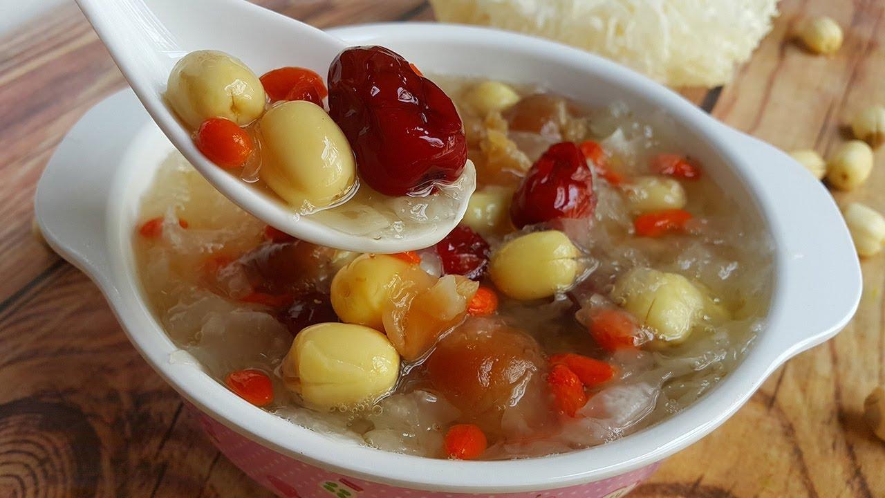 Các món ăn thơm ngon, bổ dưỡng chế biến từ yến sào, bạn nên tham khảo 3