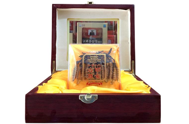 Đông trùng hạ thảo Tây Tạng nguyên con hộp 50g 1