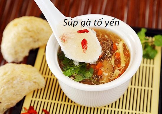 Đổi vị ngày mưa với món súp tổ yến gà thả 4