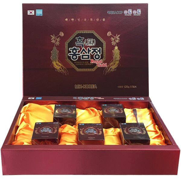 Cao hắc sâm cao cấp Hàn Quốc hộp 5 lọ x 120g 1