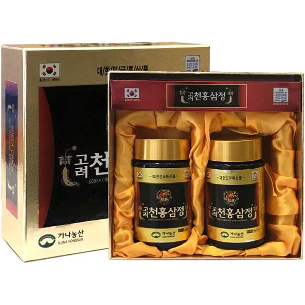 Cao hồng sâm Kana Hàn Quốc hộp 2 lọ x 240g 1