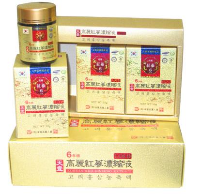 Cao hồng sâm Dongwon nguyên chất 100% hộp 3 lọ x 50g 2