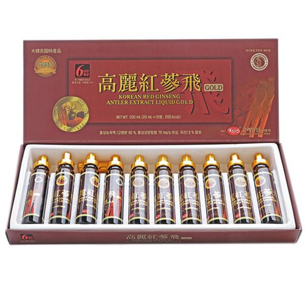 Tinh chất hồng sâm nhung hươu KGS 10 ống