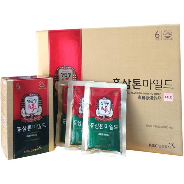 Nước hồng sâm cao cấp KGC Plus Mild hộp 30 gói 2
