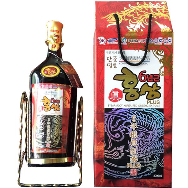 Nước hồng sâm đông trùng hạ thảo chai 3 lít Kanghwa 1