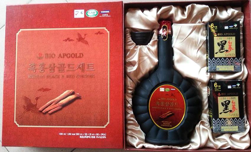 Tinh chất hắc sâm Hàn Quốc Bio Apgold