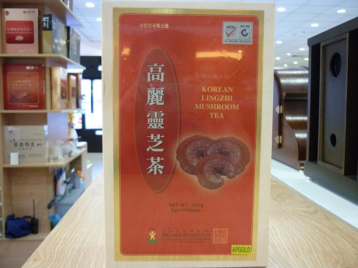 Trà Linh Chi Hàn Quốc hộp gỗ - Thức uống bổ dưỡng tiện lợi 1