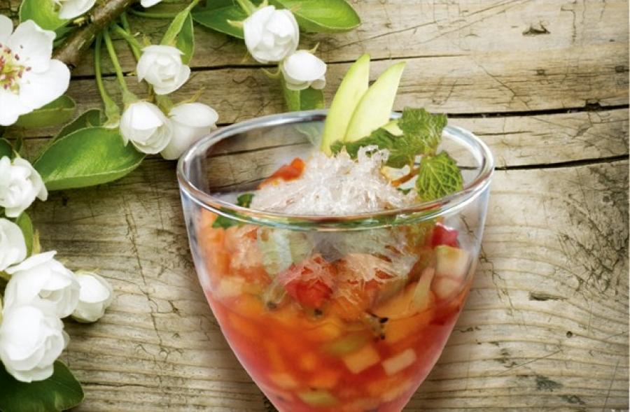 Học ngay công thức chế biến món nước trái cây yến sào cực ngon 1