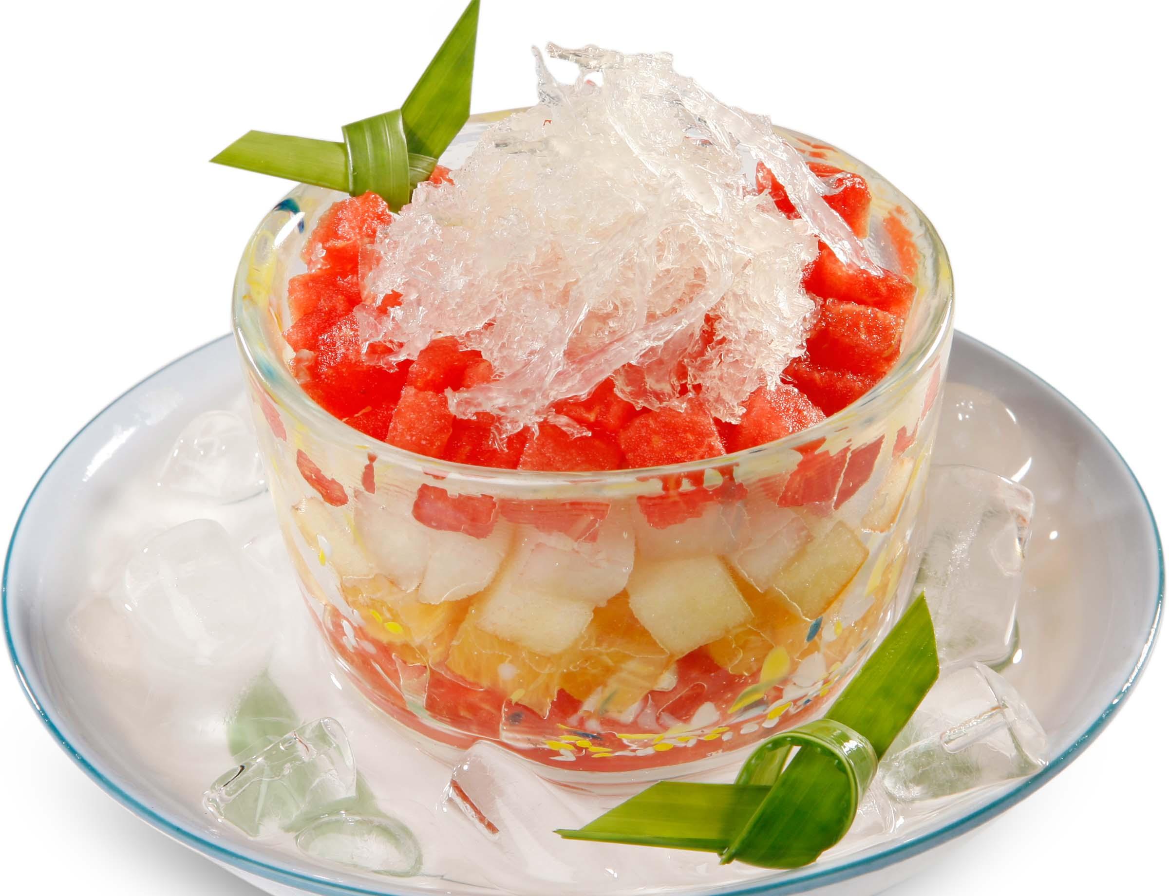 Học ngay công thức chế biến món nước trái cây yến sào cực ngon 3