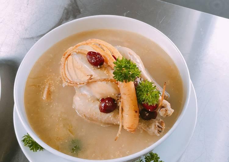 Cháo gà nhân sâm Hàn Quốc - Bổ sung dinh dưỡng cho người bệnh 1