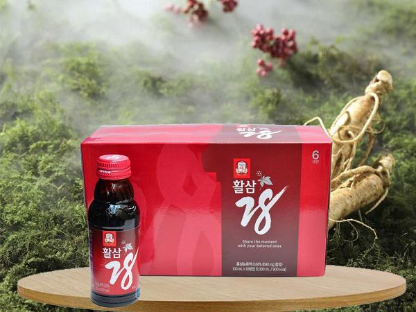 Lưu ngay 2 loại nước hồng sâm Hàn Quốc được ưa chuộng nhất hiện nay 4