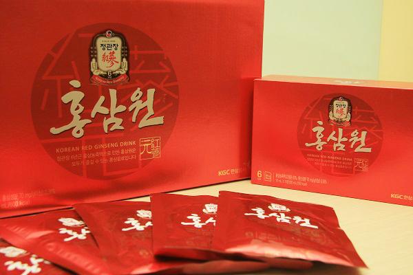 Lưu ngay 2 loại nước hồng sâm Hàn Quốc được ưa chuộng nhất hiện nay 2