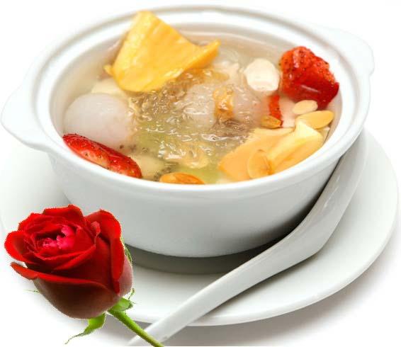 Tổ yến chưng hỗn hợp trái cây - Món ăn vừa giải nhiệt lại còn bổ dưỡng 1
