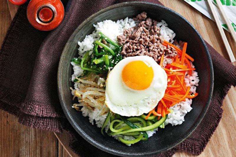 Chia sẻ công thức làm món cơm trộn nhân sâm tươi đúng vị Hàn Quốc 4